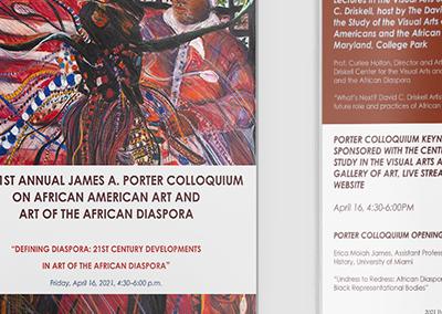 2021 James A Porter Colloquium Program